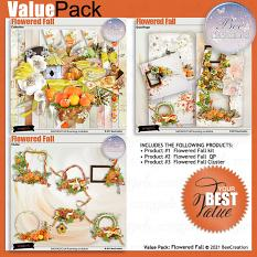 Flowered Fall Value Pack