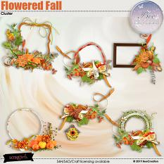Flowered Fall Cluster