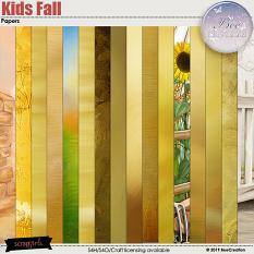 Kids Fall Papers