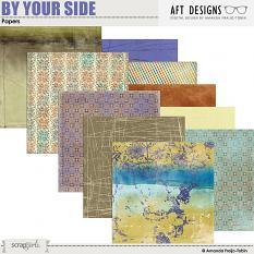 By Your Side #digitalscrapbooking Paper by AFT Designs