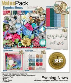 Value Pack: Evening News by Silvia Romeo