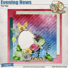 Evening News Easy Page by Silvia Romeo