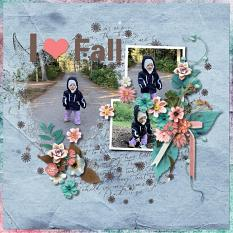 Layout using ScrapSimple Digital Layout Collection:element