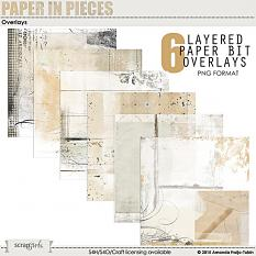 Paper In Pieces Overlays