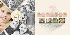 Week 24 Digital Scrapbooking Layout by Brandy Murry