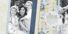 """""""A Mother's Love"""" digital scrapbooking layout by Brandy Murry"""