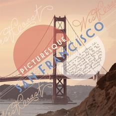 """San Francisco"" roadtrip Layout by Brandy Murry"