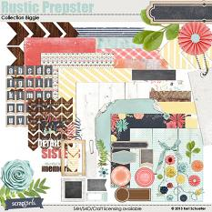 Rustic Prepster Digital Scrapbooking Collection Biggie