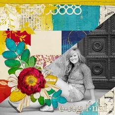 Art Journal layout by Angie Briggs