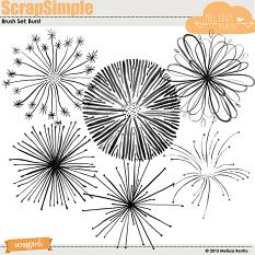 Brush Set: Bursts