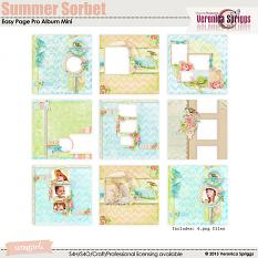 Summer Sorbet Easy Page Pro Mini Album