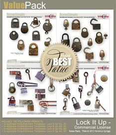 Value Pack: Scrap Simple Lock It Up