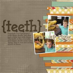 Digital Scrapbool layout using ScrapSimple Digital Layout Templates: Stacked Strips 2