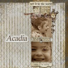 Acadia by Carmen Richards