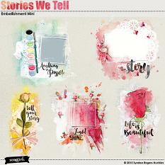 Stories We Tell embellishment mini