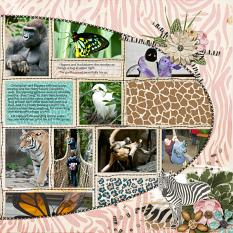 Layout using Messy Stitched Collage 2 Templates by Cheri Thieleke