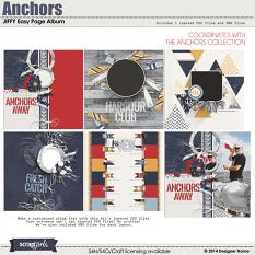 Anchors JIFFY Easy Page Album (Included)