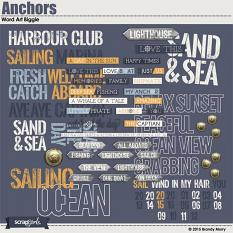 Anchors Word Art Biggie (Included)