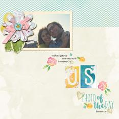 Stories We Tell Alpha mini layout by Angie Briggs