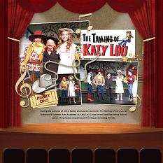 Digital Scrapbooking Layout by Cherise Oleson, using ScrapSimple Digital Layout Templates: Music in Me