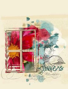 Flowers Layout by Emily Abramson