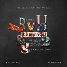 Value Pack: ScrapSimple Junkyard Marquee