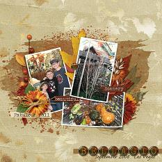 Bellagio layout using Fabulous Fall Collection