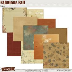 Papers included in the Fabulous Fall Collection