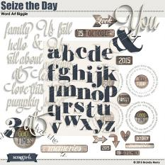 Seize the Day Alpha & Word Art