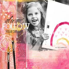 ScrapSimple Digital Layout Templates: Grunge Block 2 layout by Brandy Murry
