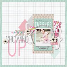 Digital scrapbooking layout by Armi Custodio using School Girl Collection