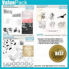 Dirty Page Builders Value Pack by Jan Ransley
