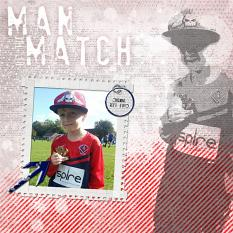 """Man of the Match"" digital layout by Jan Ransley"