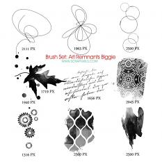 Brush Set: Art Remanents Biggie