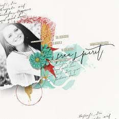 Digital Scrapbooking Layout by Brandy Murry