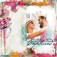 Captured layout by Syndee Rogers-Nuckles using Art Mix Borders paper templates