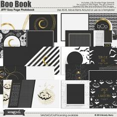 JIFFY Easy Page Album: Photobook - Boo Book