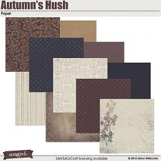 Paper included in the Autumn's Hush Collection