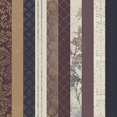 Autumn's Hush Collection Paper Samples