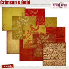 Crimson & Gold Papers