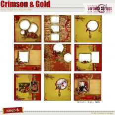 Crimson & Gold Album Mini