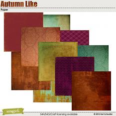 Autumn Like Paper by Keri Schueller