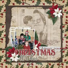 """Christmas Jumpers"" layout by Valerie Tuffrey using Tis The Season Collection Biggie"