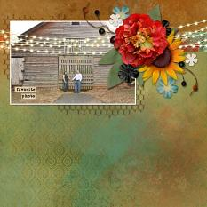 Layout by Angie Briggs using In Lights embellishments