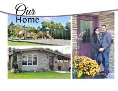 """Our Home"" digital layout features SSDLAT: Modern PhotoBook"