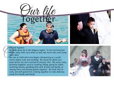 """Our Life Together"" digital layout showcases SSDLAT: Modern PhotoBook"