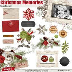 Christmas Memories Embellishments