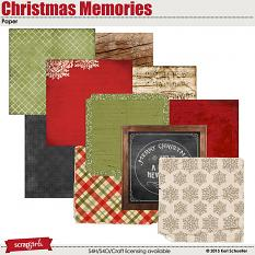 Christmas Memories Paper Sample