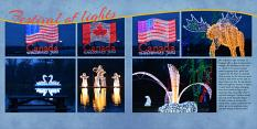 """Festival of Lights"" digital layout showcases SSDLAT:12x24 Modern PhotoBook"