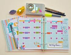 Customize your planner pages to make them your own!